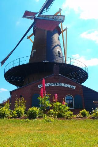 Tuinproject bij monumentale stellingmolen in Oisterwijk