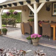 Landelijke Tuin in Steenbergen