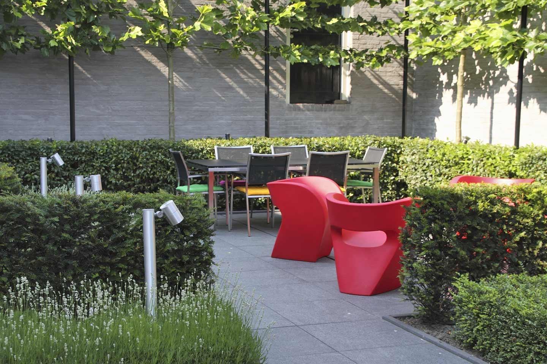 Moderne Stadstuin in Bergen op Zoom