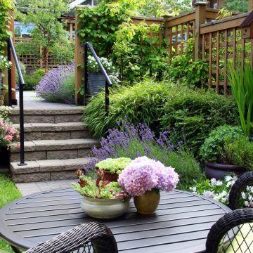 Hoe ontwerp je een kleine tuin?