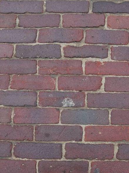Oude hardgebakken dikformaten Den Haag, paars genuanceerd