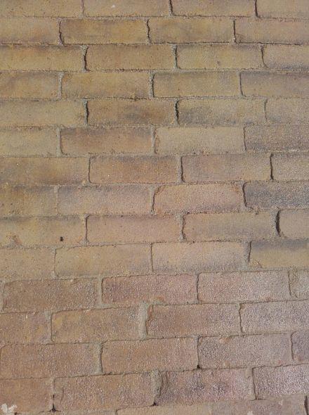 Oude hardgebakken dikformaten Doetinchem, brons bruin genuanceerd