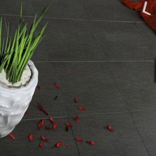 Kera Connect Granito Black 60x60 cm (Keramische tuintegel, merk Excluton) - per stuk