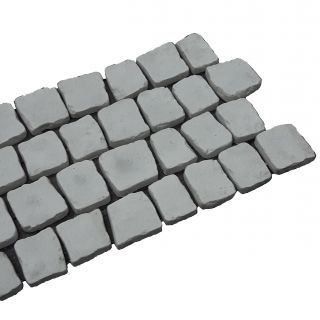 Carpet stones type E21 Grijs Naturel per stuk (2 cm dik)