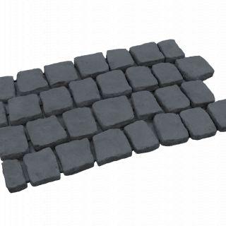 Carpet stones type E41 Basalt per stuk (4 cm dik)
