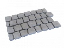 Carpet stones type E41 Antraciet per stuk (4 cm dik)