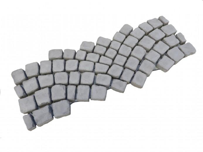 Carpet stones type E42 Antraciet (Waaierverband 4 cm, per stuk)