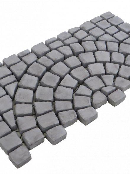Carpet stones type E44 Antraciet (Cirkelverband, per stuk)