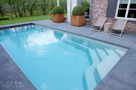 Zwembad type XL-Briliant 88 (Compass Ceramic Pools)