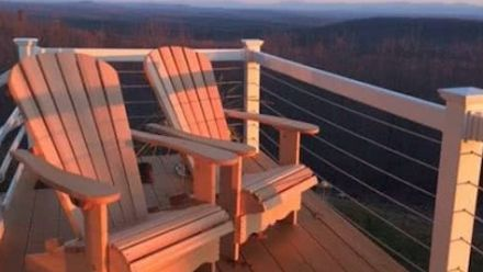 Adirondack Chair, Canadian Chair, Muskoka Chair, Bear Chair (Originele Canadese houten tuinstoelen)