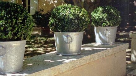 Zinc&Jardin verzinkte kuipen (verzinkte plantenbakken)