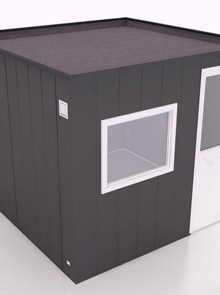 Tuinhuis type 3 - 287,5x287,5x235 cm (Hermes Isolatiepanelen)