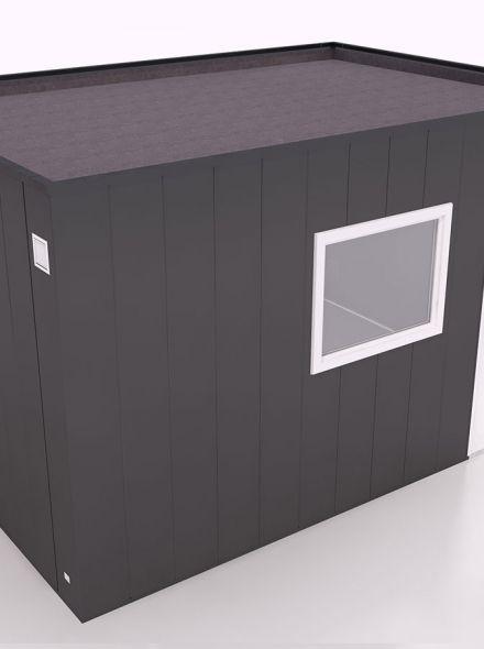 Tuinhuis type 4 - 402,5x287,5x235 cm (Hermes Isolatiepanelen)