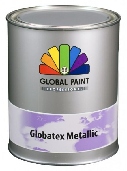 Global Paint - Globatex Metallic 1 liter (muurverf)