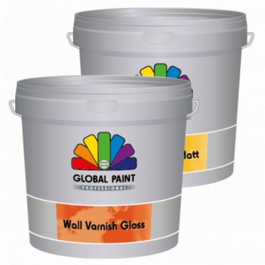 Global Paint - Wall Varnish Matt - 5 liter