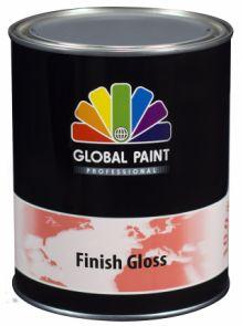 Global Paint - Finish Gloss 2,5 liter (Hoogglans / houtverf lak voor buiten)
