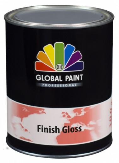 Global Paint - Finish Gloss 1 liter (Hoogglans / houtverf lak voor buiten)