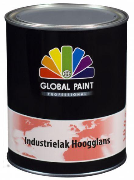 Global Paint - Industrielak Hoogglans 1 liter (krasvaste houtverf voor buiten)