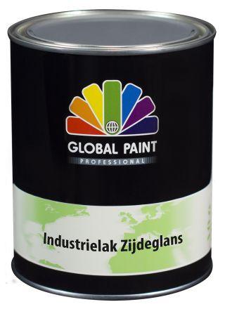 Global Paint - Industrielak Zijdeglans 0,5 liter (krasvaste houtverf voor buiten)