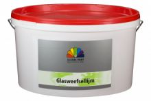 Glasweefsellijm Transparant 12,5 liter (Global Paint)