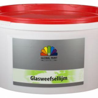 Glasweefsellijm Transparant 12,5 liter (Global Paint)