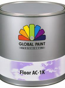 Global Paint - Floor AC-1K - Wit - 1 liter (betonverf voor binnen gebruik)