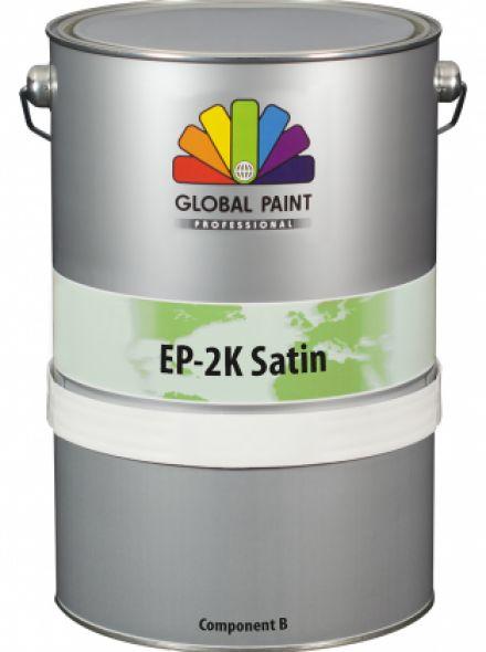 Global Paint - EP-2K Satin - 2,5 liter - Wit (betonverf voor binnen gebruik)