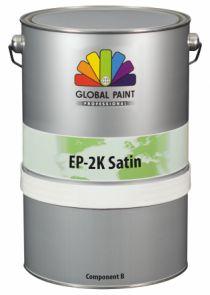 Global Paint - EP-2K Satin - 2,5 liter - Kleur (betonverf voor binnen gebruik)