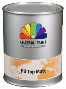 Global Paint - Aquatura PU Top Matt 0,5 liter