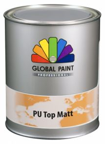 Global Paint - Aquatura PU Top Matt 2,5 liter