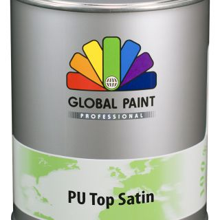 Global Paint - Aquatura PU Top Satin 0,5 liter