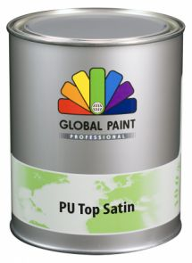Global Paint - Aquatura PU Top Satin 1 liter