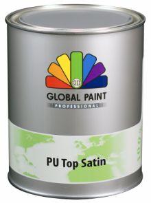 Global Paint - Aquatura PU Top Satin 2,5 liter