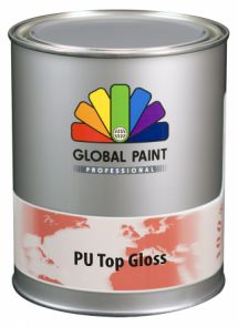 Global Paint - Aquatura PU Top Gloss 1 liter