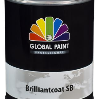 Global Paint - Brilliantcoat SB 0,5 liter (Hoogglans houtverf)