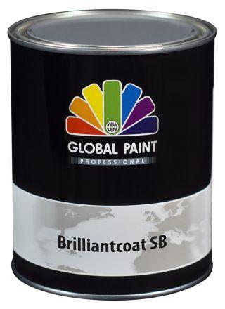 Global Paint - Brilliantcoat SB 0,5 liter (Hoogglans houtverf)