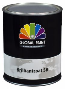 Global Paint - Brilliantcoat SB 2,5 liter (Hoogglans houtverf)