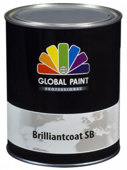 Global Paint - Brilliantcoat SB 2,5 liter (Hoogglans houtverf)
