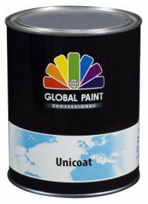 Global Paint - Unicoat 0,5 liter (Zijdeglans houtverf)