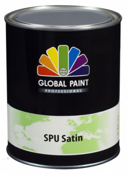 Global Paint - SPU Satin 0,5 liter (Zijdeglans houtverf)