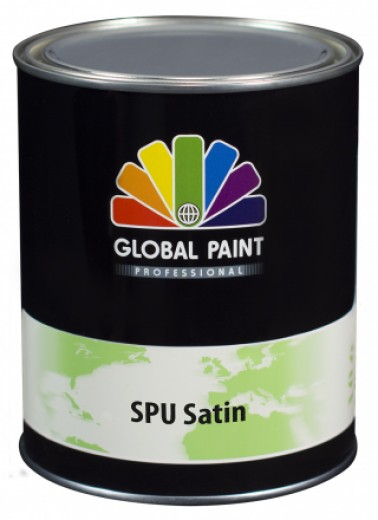 Global Paint - SPU Satin 0,5 liter (Zijdeglans houtverf)