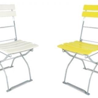 ELEFANT stoel Bayern in kleur (2049EV, Klassieke tuinstoel, terrasstoel)