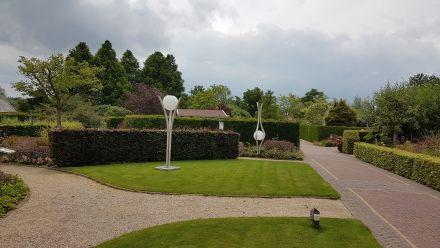 RVS designlampen voor in de tuin