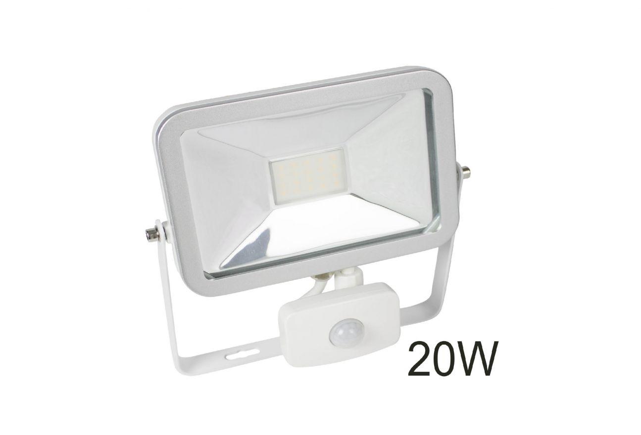 Sensor  floodlight buitenlamp met een bewegingsmelder