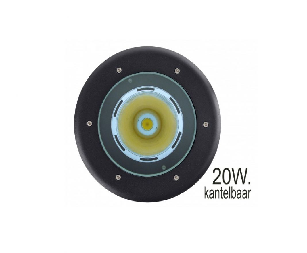 Kantelbare Grondspot LED 20W (Spotpro 10-335749)