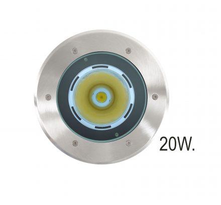 RVS Grondspot LED 20W (Spotpro 10-335750)