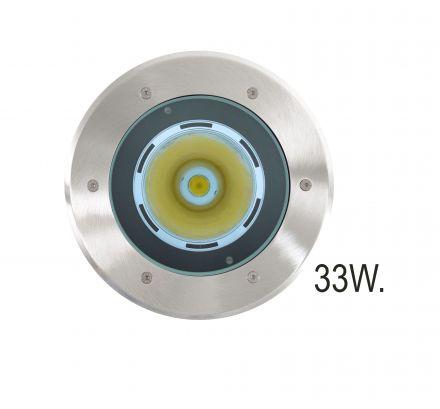 RVS Grondspot LED 33W (Spotpro 10-335751)