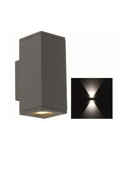 Spotpro, updown light, wand, 2xGU10, grafiet (Gevelspot 3053-25)