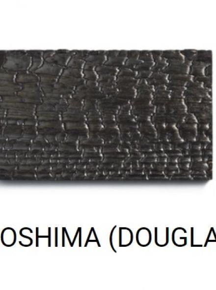 NAOSHIMA (zwart gebrand Douglas hout)