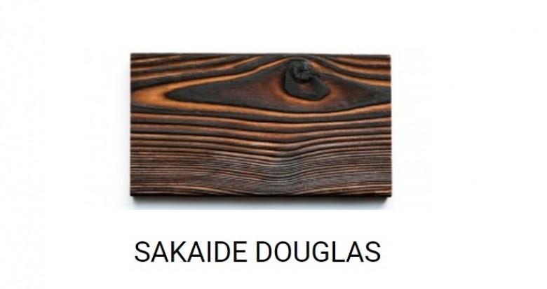 SAKAIDE (zwart gebrand Douglas hout)